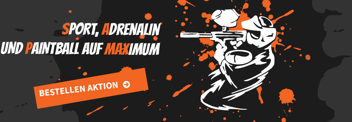 SPORT, ADRENALIN UND PAINTBALL AUF MAXIMUM
