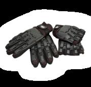Rukavice se vyznačují zesíleným hřbetem a polstrovanou dlaní. Je možné si vybrat prstové nebo bezprstové.