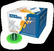 Velmi kvalitní kuličky, které jsou díky svým vlastnostem a především špičkové přesnosti ideální pro náročnější hráče.
